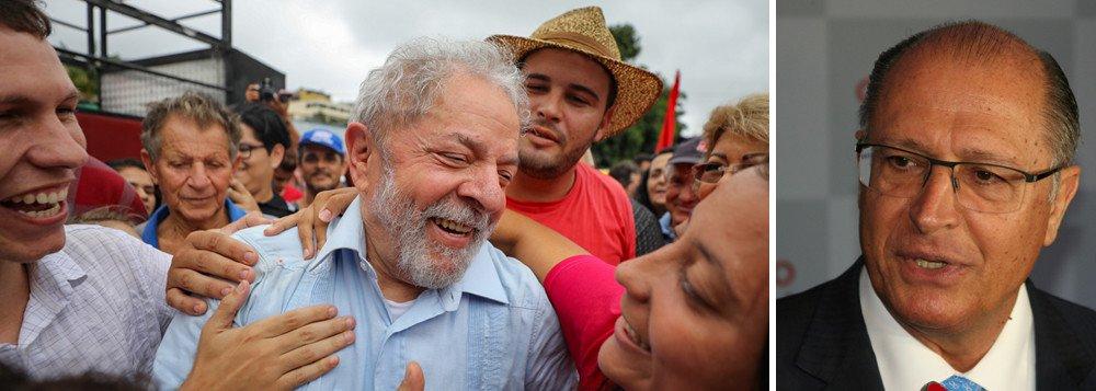 Advogado de Alckmin defende que Lula tem direito de ser candidato
