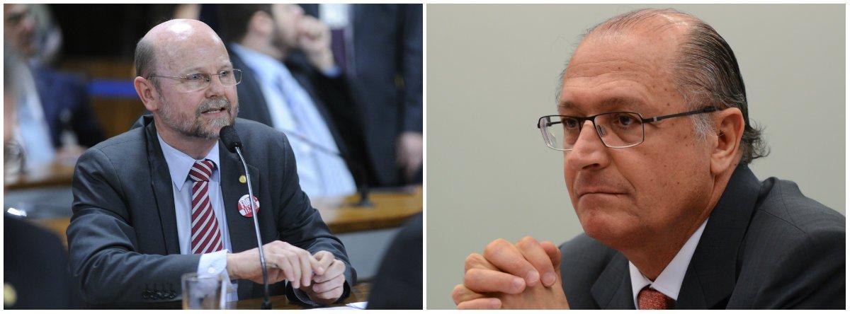 Bohn Gass critica Alckmin: candidato ideal dos patrões