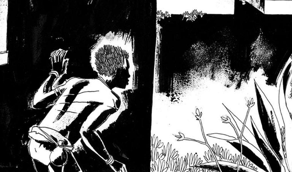 """Com história sobre escravidão, brasileiro vence o prêmio Eisner, o """"Oscar"""" dos quadrinhos"""