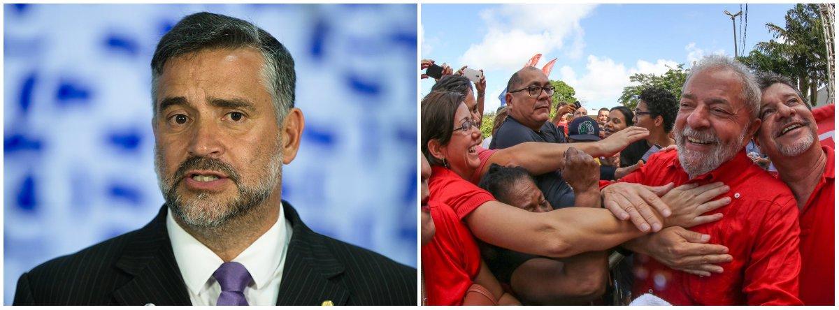 Pimenta: a mídia não vai interromper o crescimento de Lula nas pesquisas