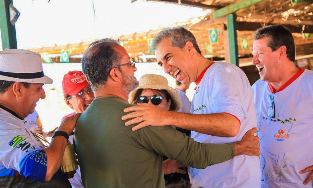 No Araguaia, Eliton defende preservação do meio ambiente