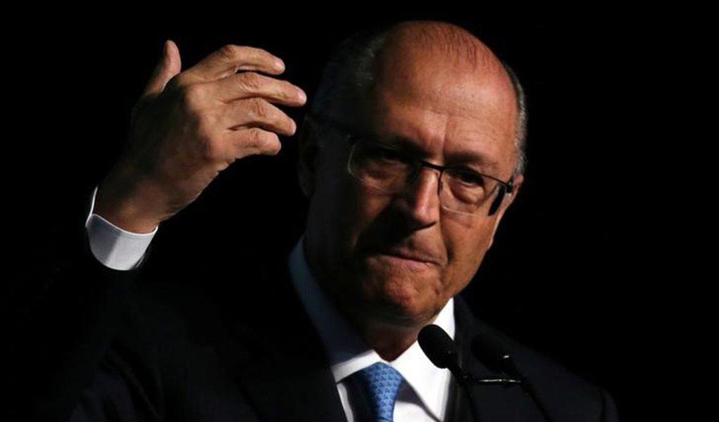 Alckmin, candidato do golpe, terá 40% do tempo de TV