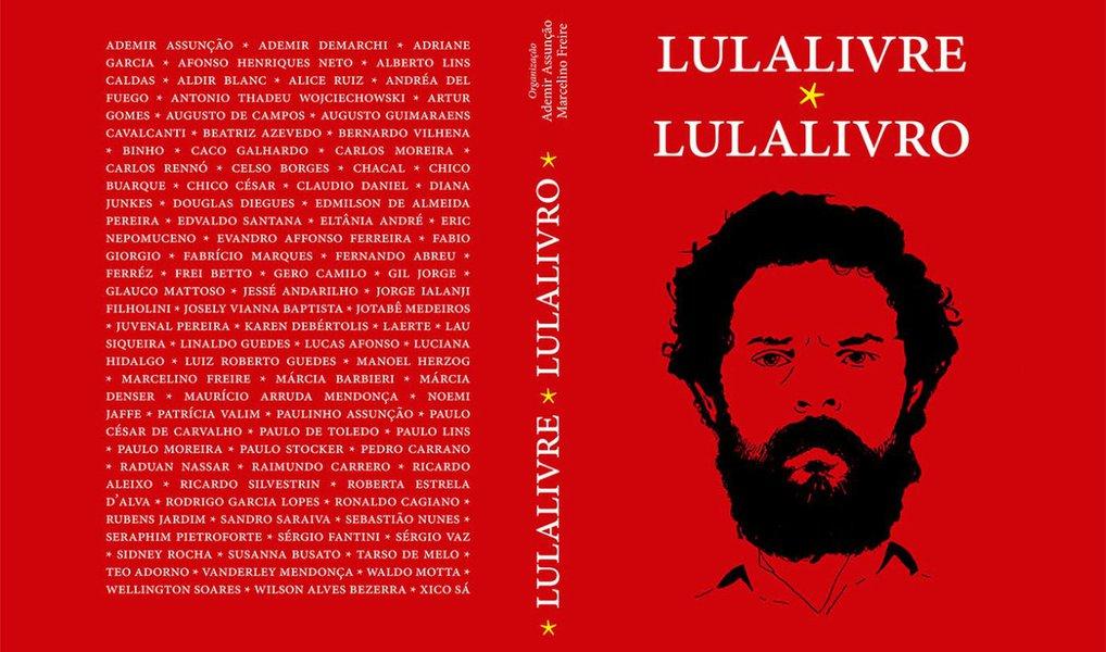 Antologia 'Lula Livro' reúne textos e desenhos em favor da liberdade de Lula