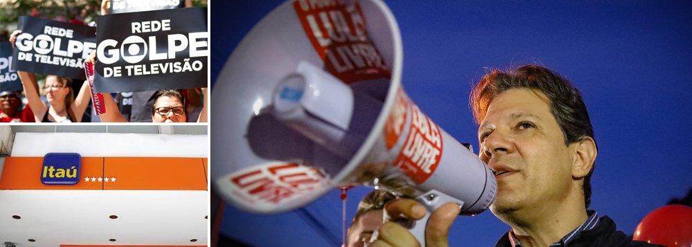 Haddad: novo governo Lula atacará Globo, poder dos bancos e irá taxar ricos