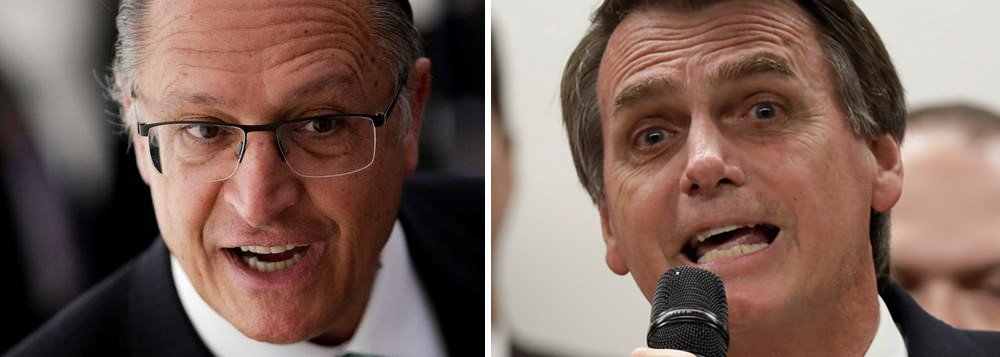 Bolsonaro vai atacar Alckmin antes do PT