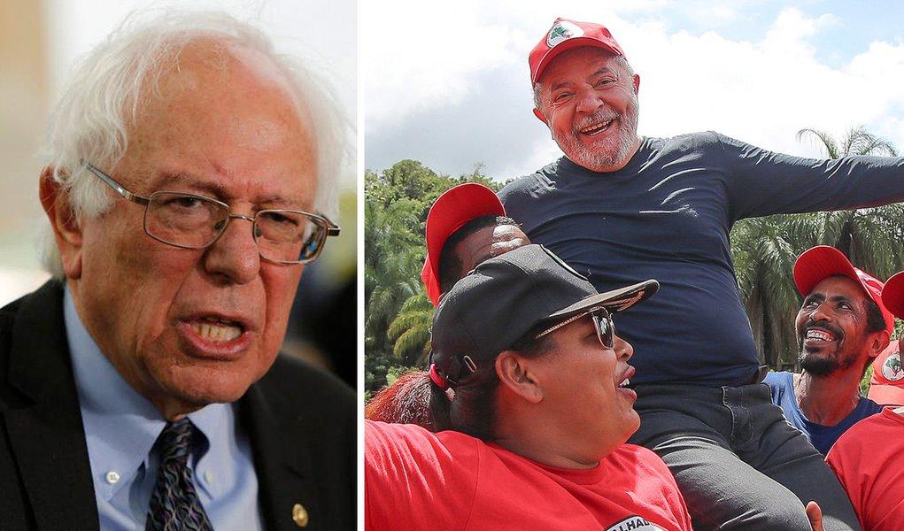 Bernie Sanders deveria visitar Lula
