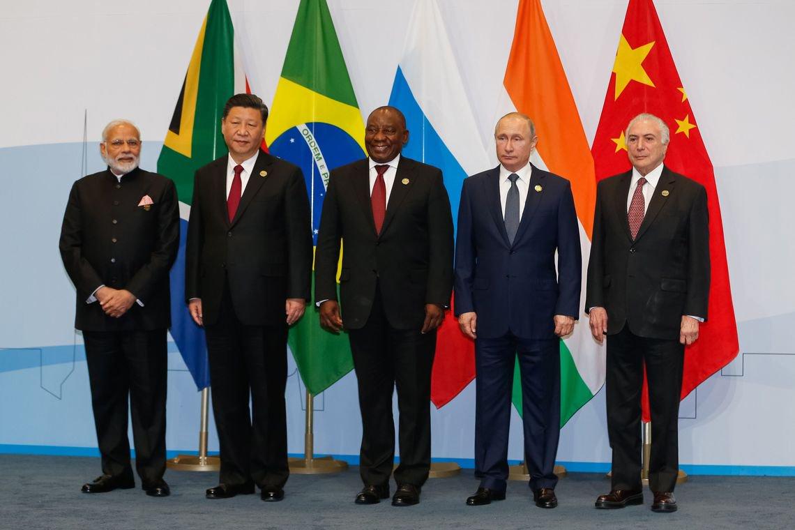 Países do BRICS reforçam coordenações em favor do multilateralismo