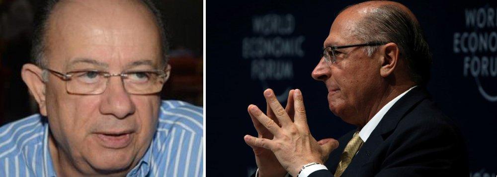 """Força de Alckmin está """"no campo político, não no povo"""", diz jornalista"""