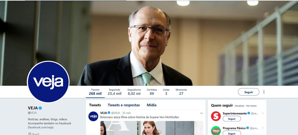 Veja assume que seu candidato é Alckmin