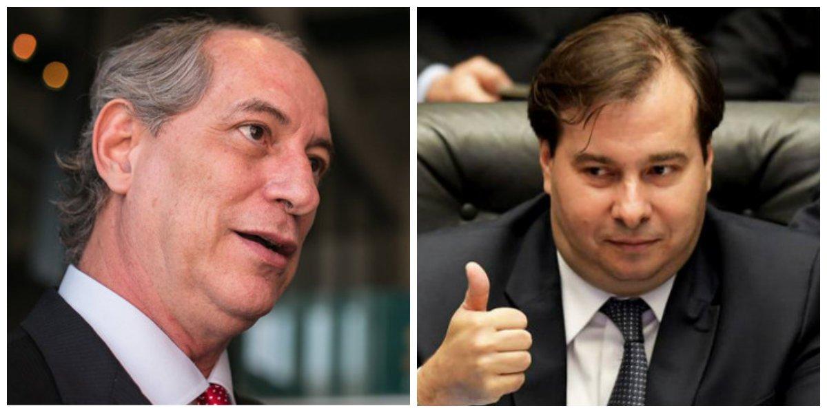 Maia fez Ciro de bobo e carregou toda a direita pra Alckmin