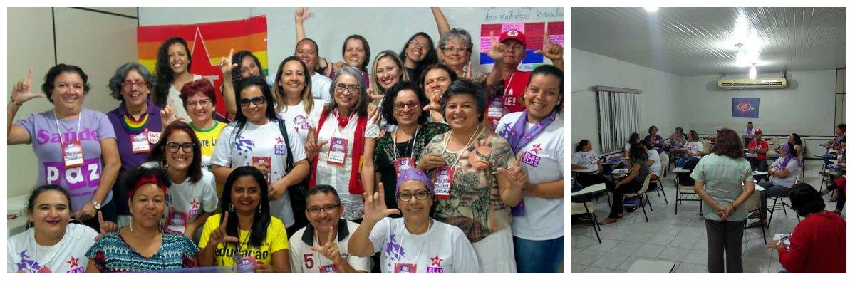 PT Ceará reúne pré-candidatas para planejar campanha