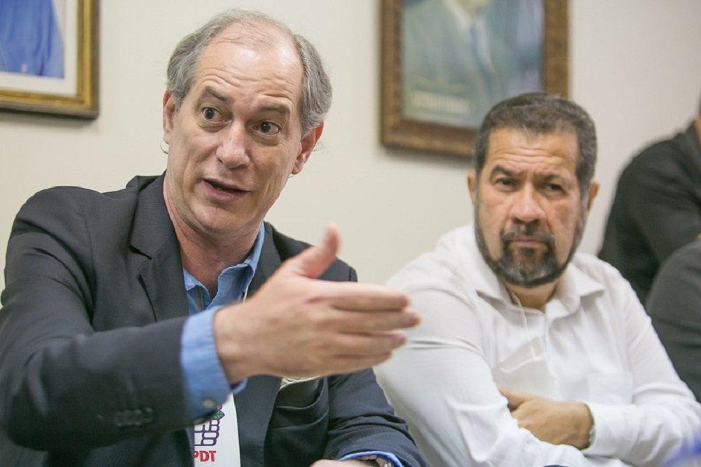 Sem centrão, Ciro se volta ao PT e diz que Brasil não terá paz com Lula preso