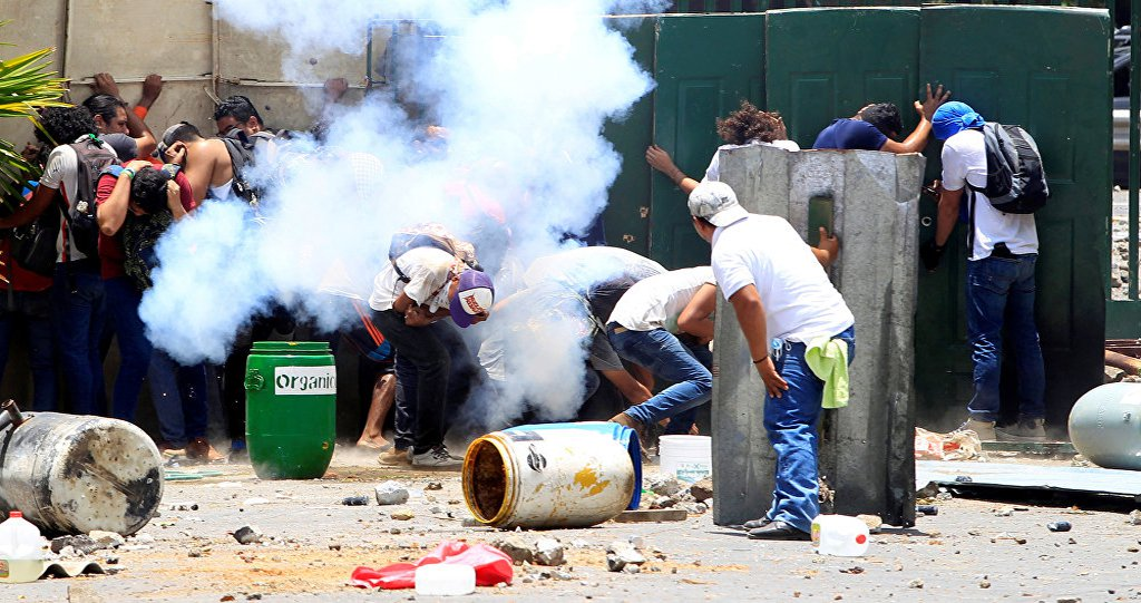 'Estão aplicando manual da desestabilização na Nicarágua'