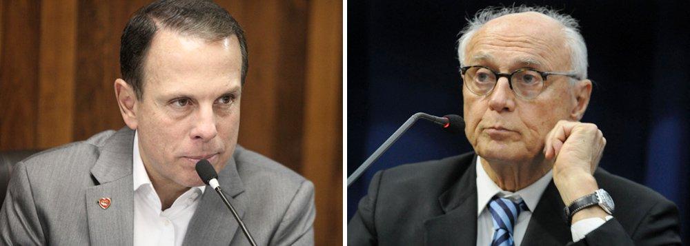Pesquisa SP: Doria lidera para o governo e Suplicy para o Senado