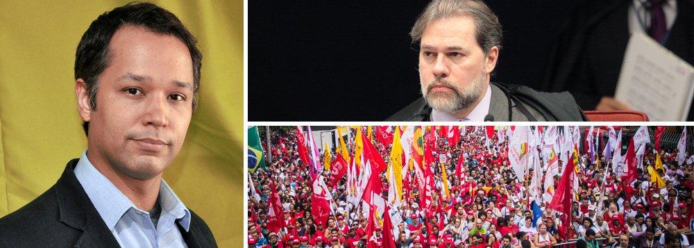 Stoppa: esquerda deve apegar-se menos nas instituições e mais no levante