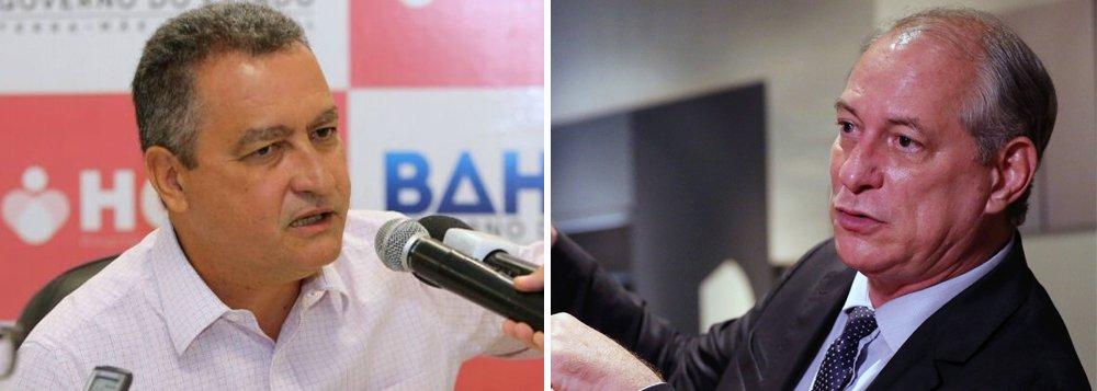 Rui Costa: opção de Ciro pelo DEM inviabiliza aliança com PT