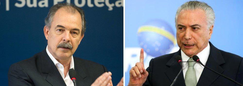 Mercadante: golpe quer privatizar bens públicos e universais
