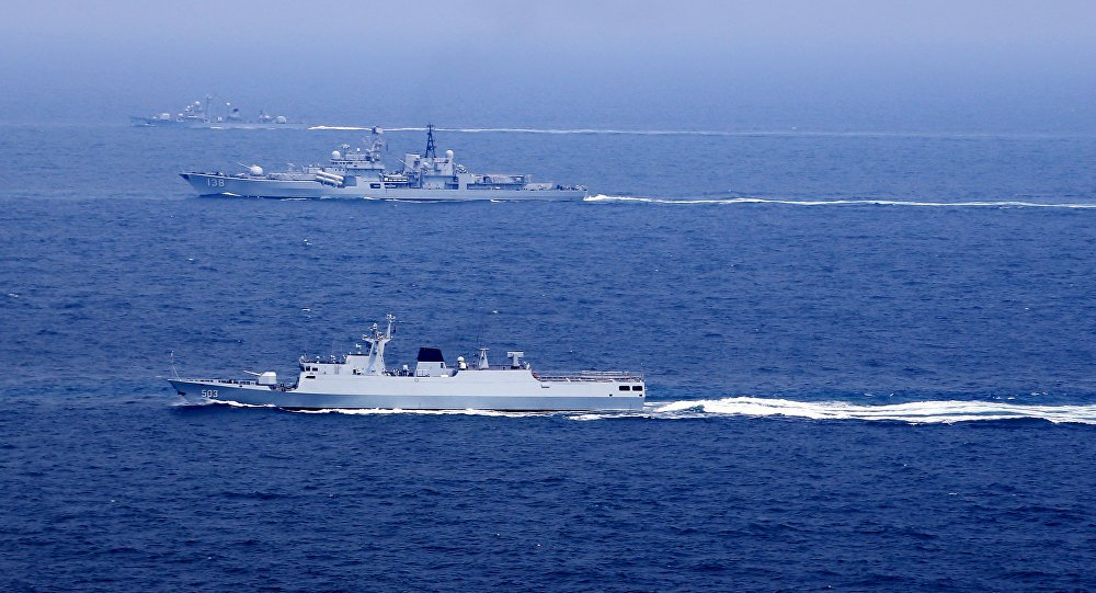 O objetivo por trás das manobras de Pequim no mar da China Oriental
