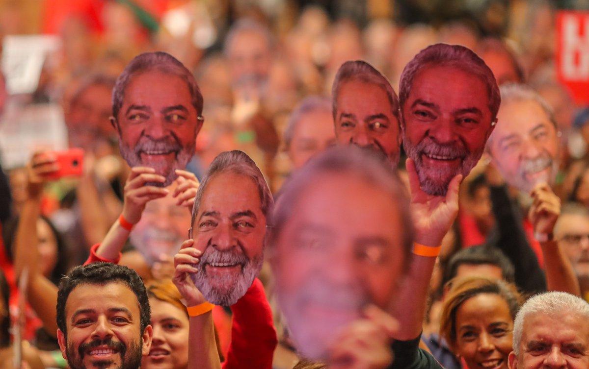 Lula tem 65% dos votos em Pernambuco