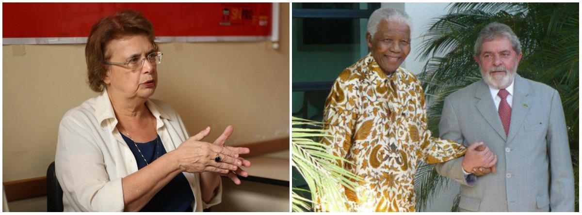 Margarida: a história inocentou Mandela, assim como faz com Lula