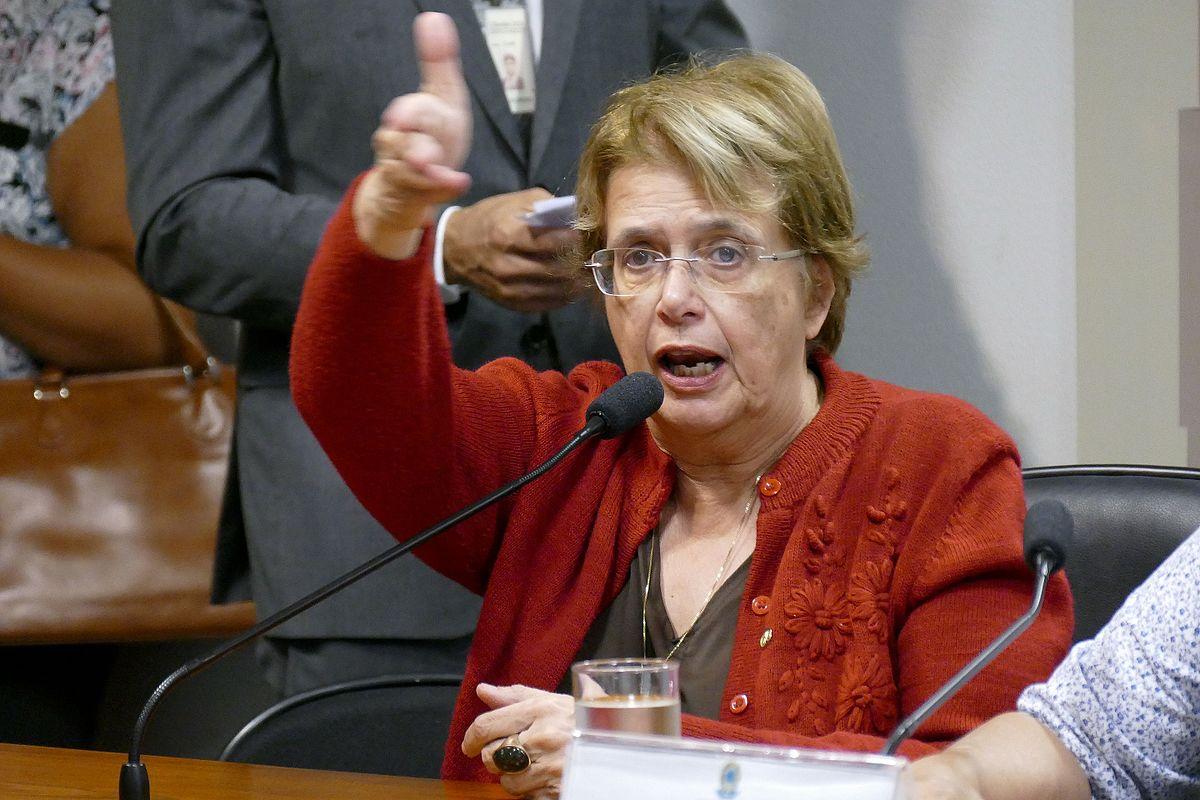 Margarida Salomão: o golpe é cria do PSDB