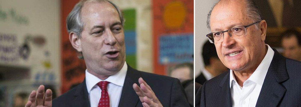 Alckmin ganhou pouco; Ciro perdeu
