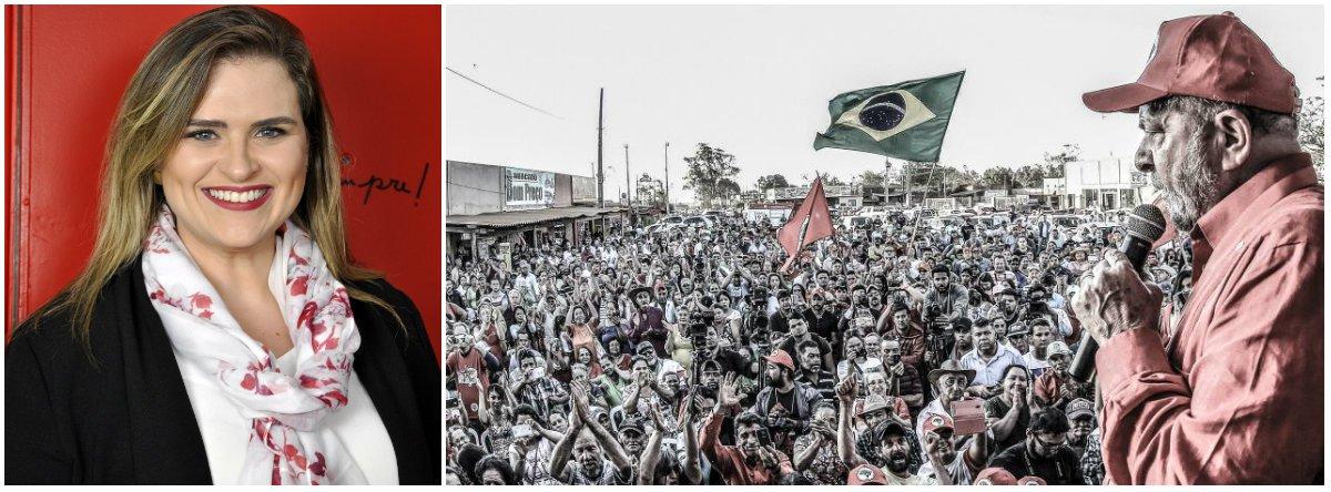 Marília Arraes: Lula é perseguido por seu projeto