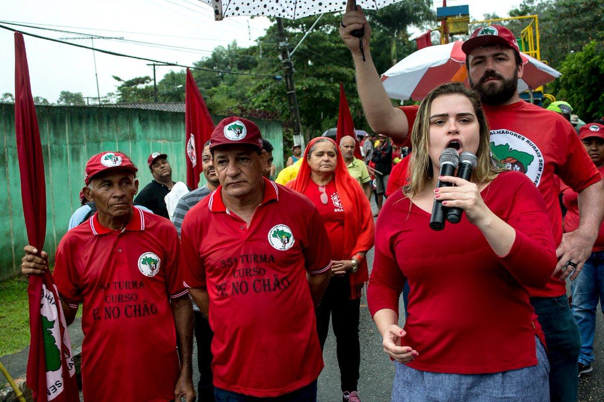 Depois de quatro dias, Marcha Lula Livre chega ao Recife