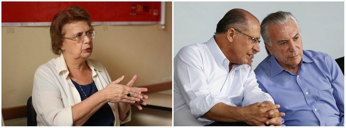 Margarida Salomão: eventual governo Alckmin será a Ponte para o Atraso