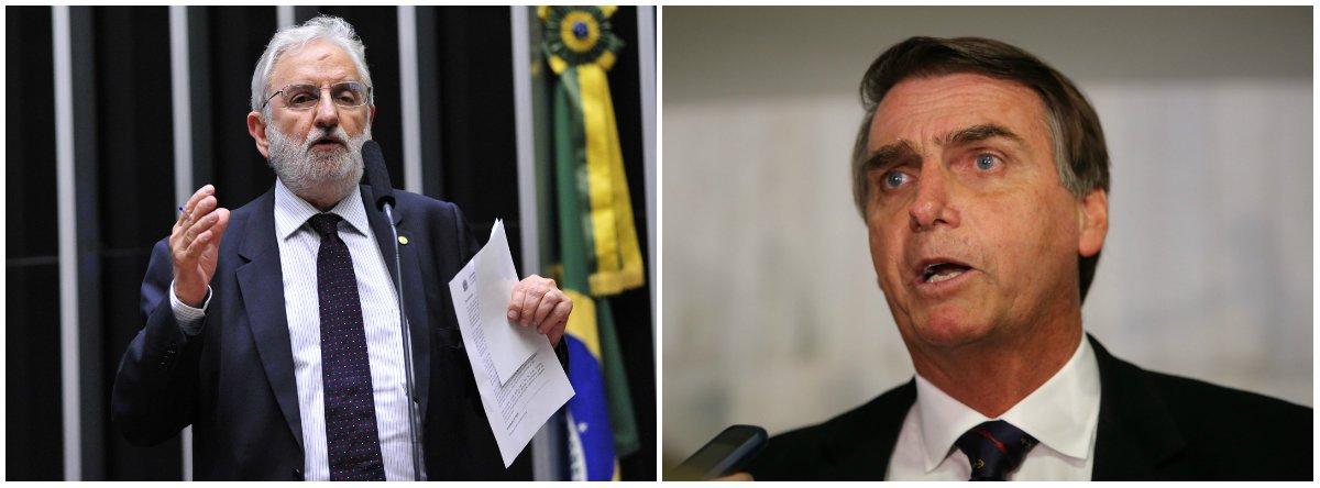 Valente: moralismo de Bolsonaro é puro cinismo e hipocrisia