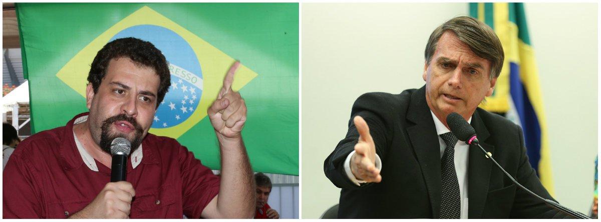 Boulos: Bolsonaro Fujão, pague a Wal com o seu salário de R$ 33 mil