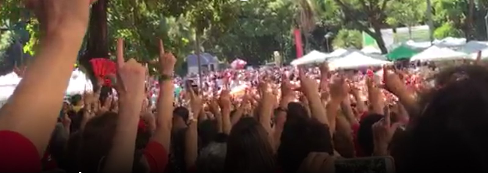 Por Lula candidato, BH canta: 'tu vens, tu vens, eu já escuto teus sinais'