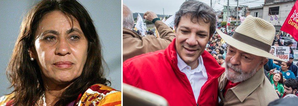 Tereza Cruvinel: transferência de votos de Lula para Haddad pode ser bem sucedida