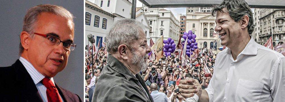 Marcos Coimbra: ou Lula vence, ou Haddad passa em primeiro lugar