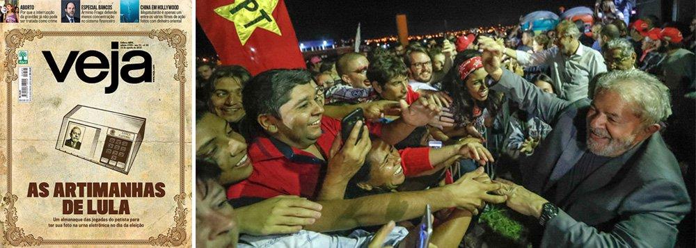 Panfletagem política de Veja dá vergonha, diz Fernando Brito