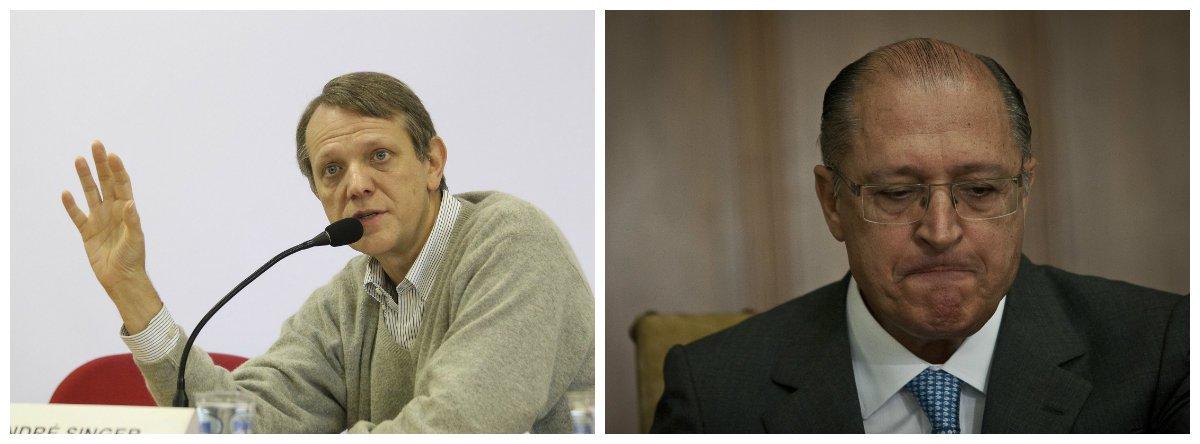 André Singer: Alckmin quer privatizar as universidades