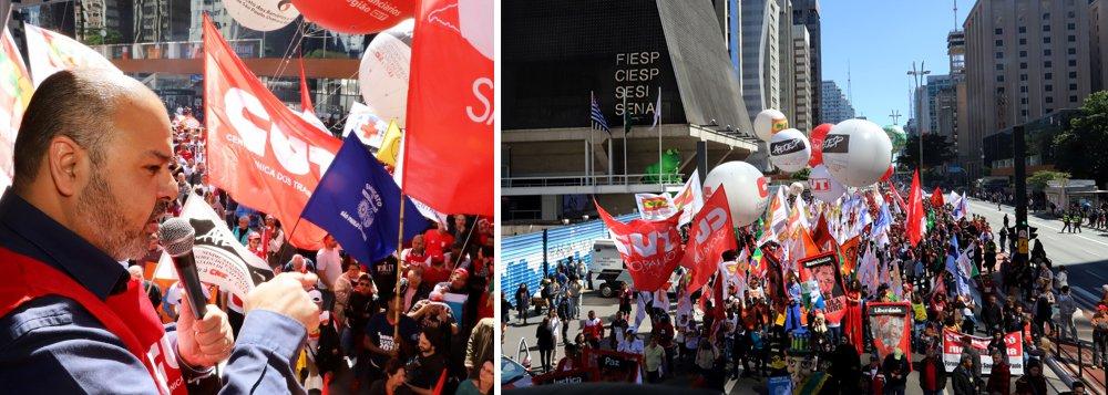 Dia do Basta protesta contra política de austeridade de Temer