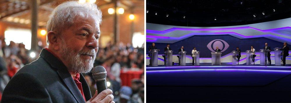 Lula ganhou o debate