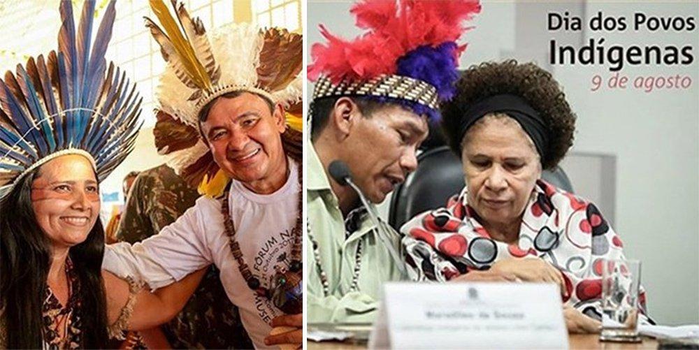 Wellington e Regina lembram Dia dos Povos Indígenas