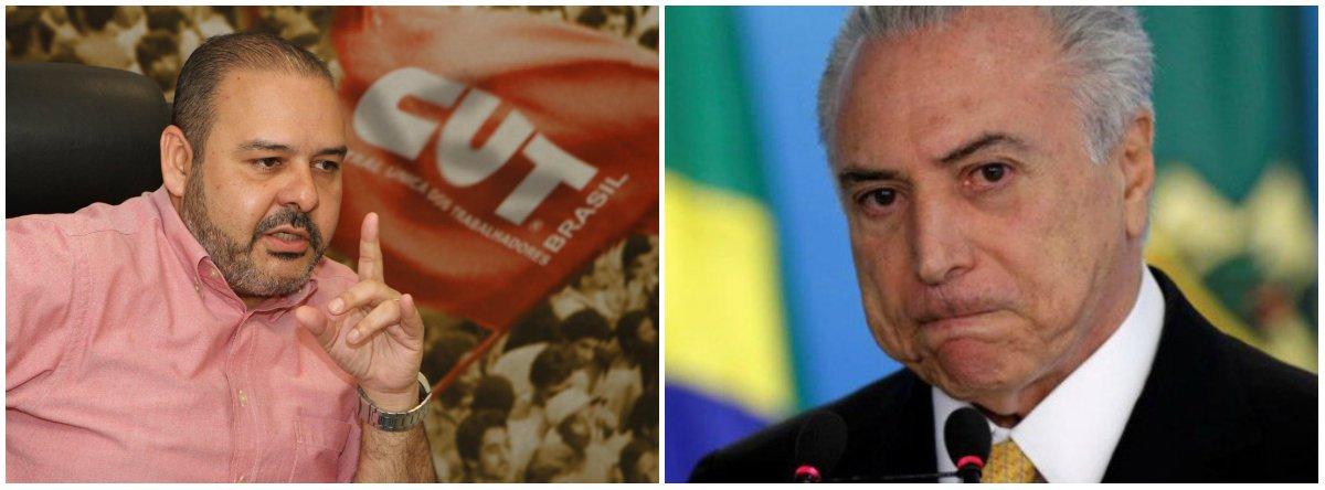 Vagner Freitas: vamos dar um basta no golpe