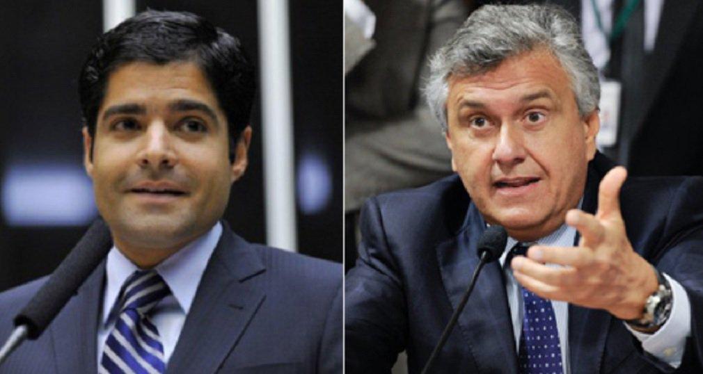 Caiado critica ACM Neto por DEM apoiar Alckmin