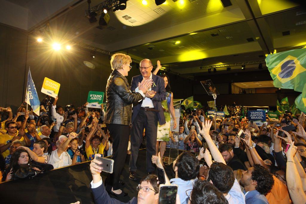 Em 4 anos, patrimônio de Alckmin cresceu 29% e o de sua vice 101%