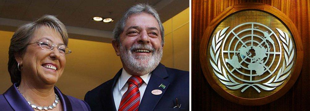 Na ONU, Bachelet pode ter posição decisiva no caso Lula
