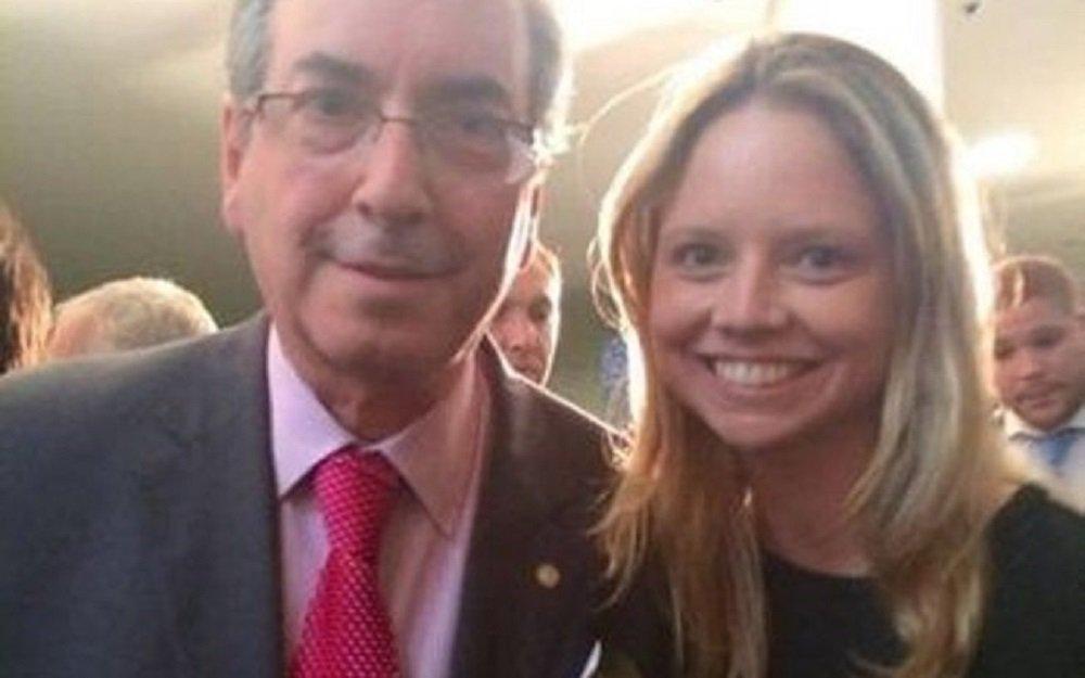 Danielle Cunha, filha de Eduardo Cunha, é candidata a deputada federal
