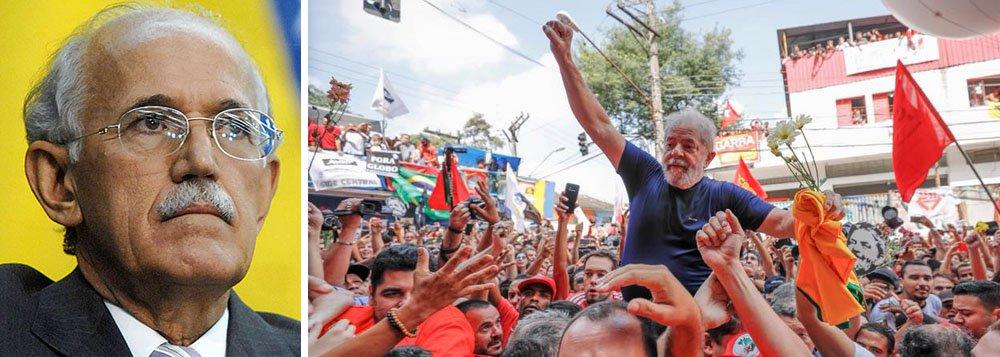 """""""A ideia era tirar Lula da eleição"""", diz ex-chefe da PF"""