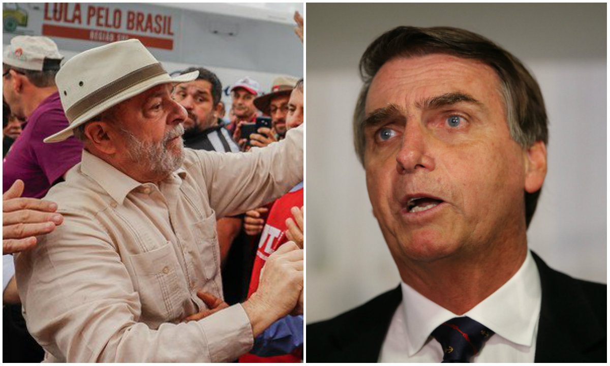 O Brasil entre Lula e Bolsonaro
