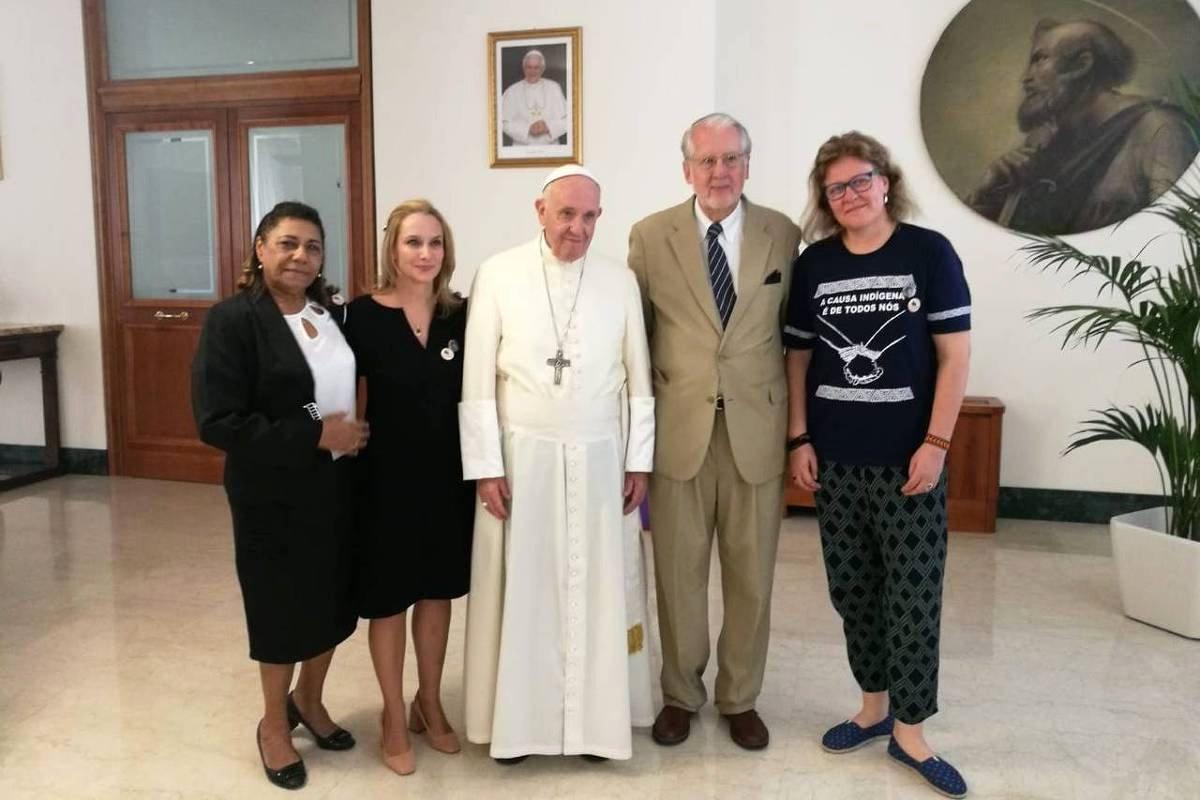Paulo Sérgio Pinheiro: relato tocante da visita ao Papa