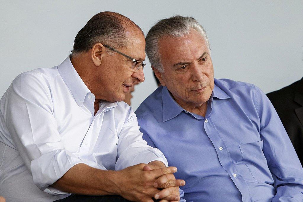 Aliado fiel de Temer, Alckmin quer jogar Temer no colo do PT