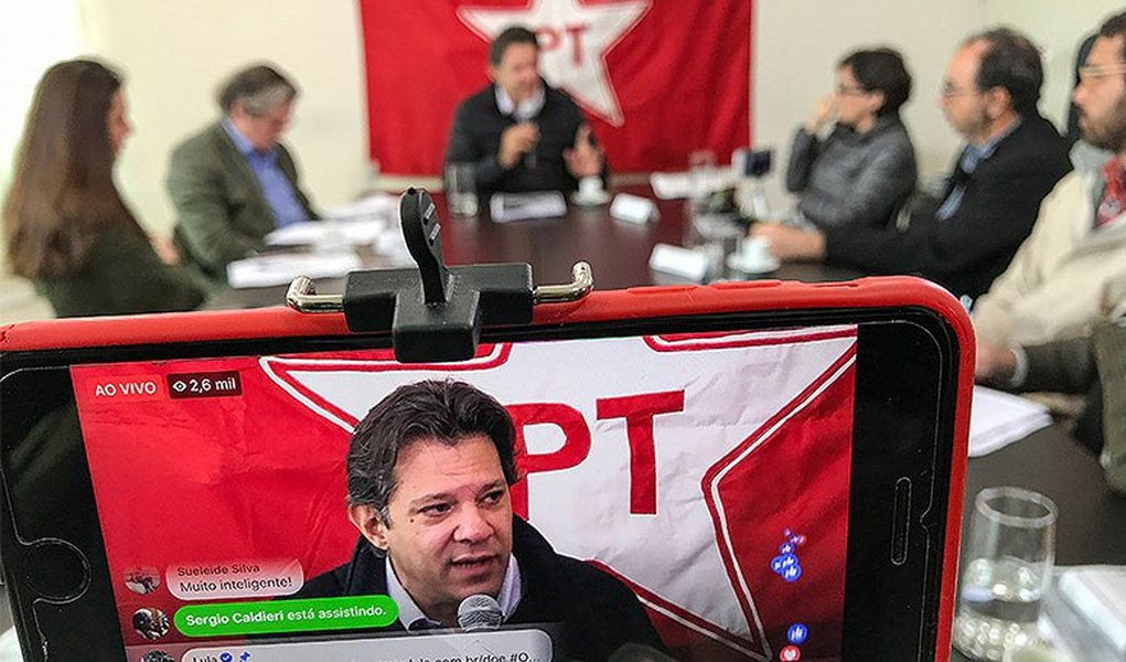 Haddad quer ser ministro de Lula. 'Precisamos reativar a democracia'
