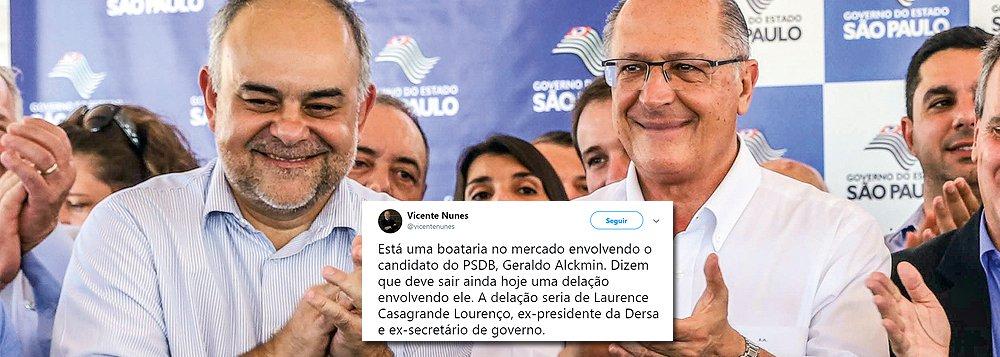Ex-chefe da Dersa estaria fazendo delação premiada contra Alckmin